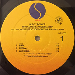 ICE-T:POWER(LABEL SIDE-A)