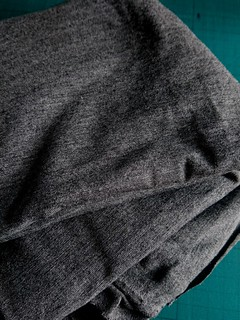 Milano Viscose Jersey - Dark Grey 5% spandex fabric