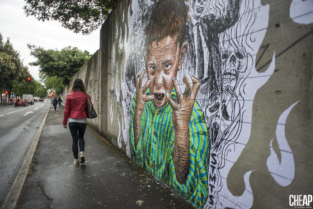 STMTS | CHEAP street poster art festival 2017