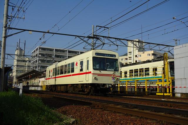 2017/05 叡山電車×きんいろモザイクPretty Days ラッピング車両 #35