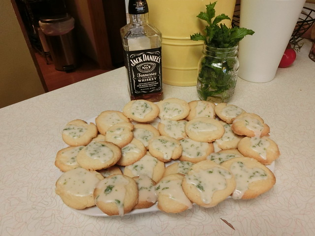 Mint Julep Cookies (yum!)
