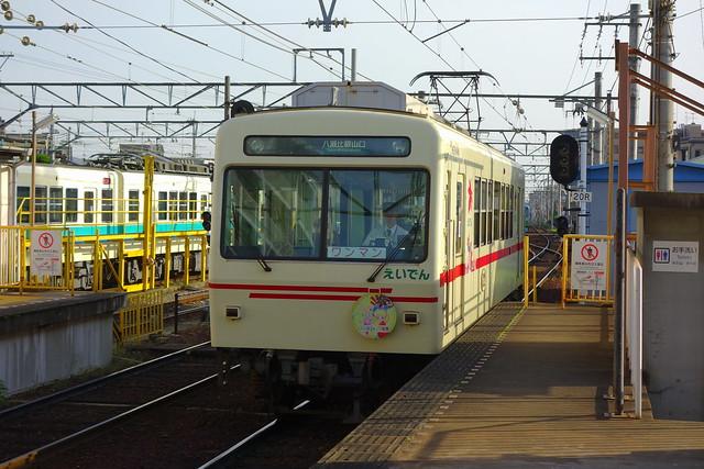 2017/05 叡山電車×きんいろモザイクPretty Days ラッピング車両 #36