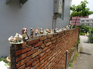 牆上的裝飾