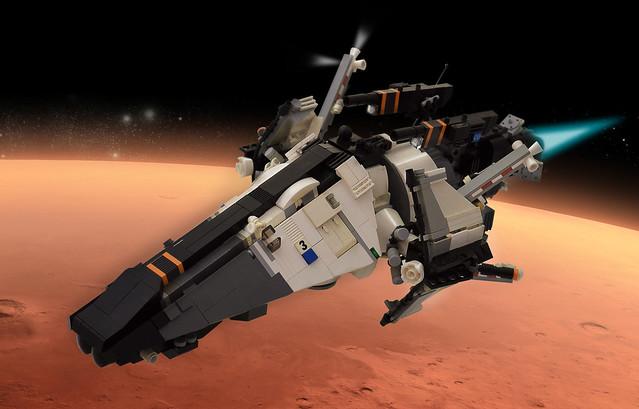 Mars Defends!