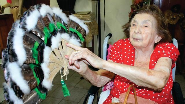Morre, aos 96 anos, a artesã ícone do Pará: Dica Frazão, Dica Frazão, artesã