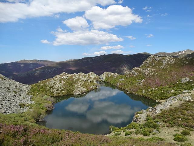 Laguna de A Serpe en Trevinca