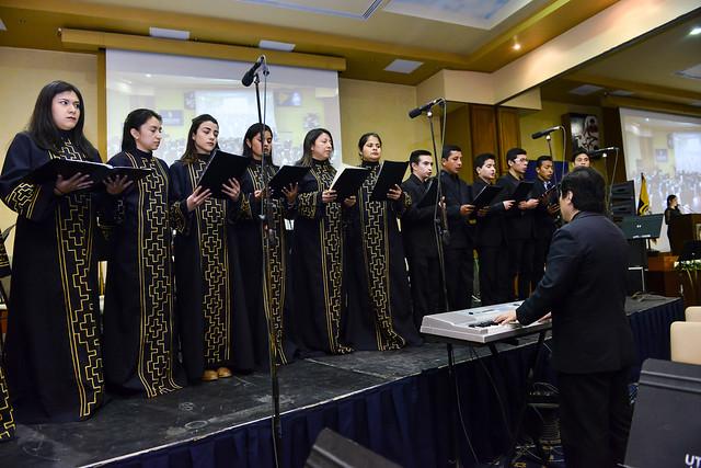 Sesión Solemne por el 46º Aniversario de Fundación UTPL