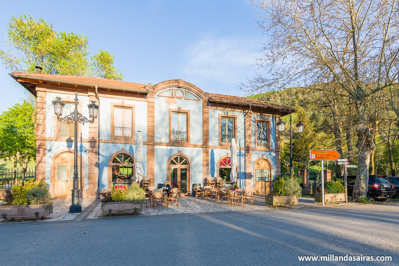 Cafetería de la Estación, Ezcaray