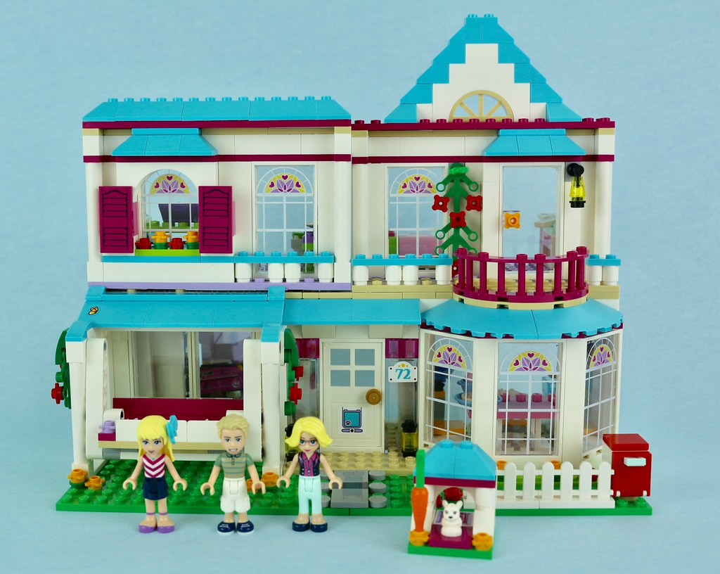 Lego Friends 41314 Stephanies House Review Brickset Lego Set