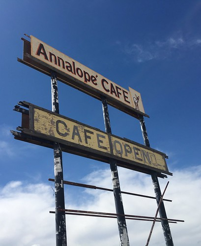Old Restaurant Sign. From The Art of Road Tripping, Part 2: Remaining Open