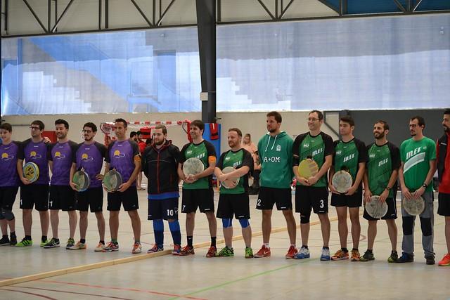 Final 8ª Lliga Catalana de tamborí indoor masculina