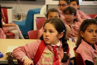 Elementary School from Sfax visit U.S. Embassy