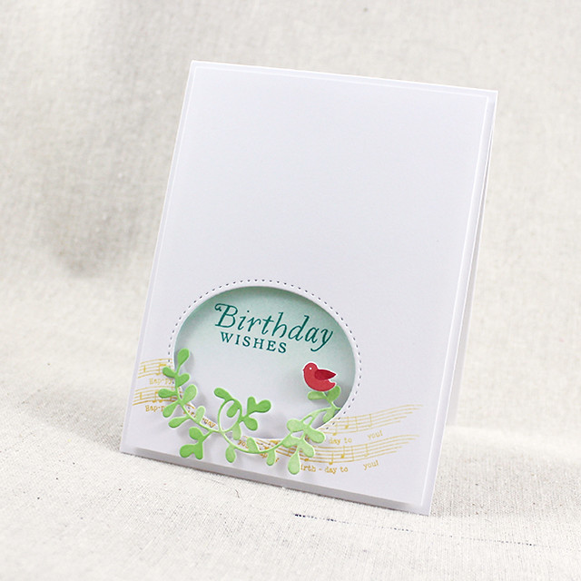 Birdy Birthday Wishes Card