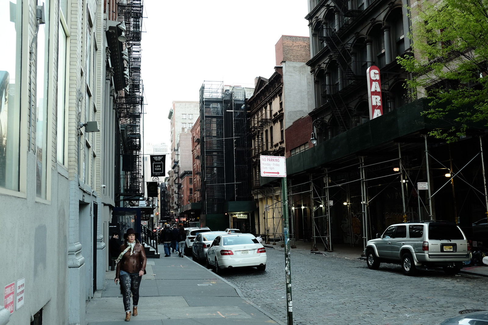 The New York Soho photo by FUJIFILM X100S.