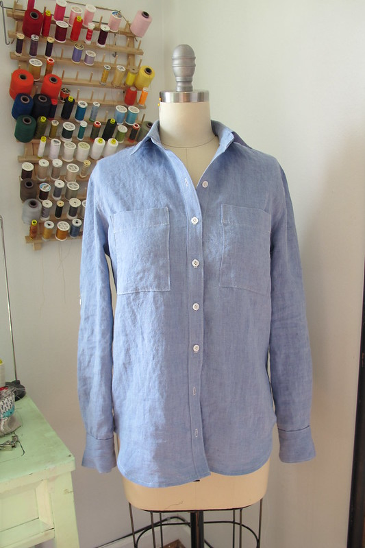 Linen Archer Button-Up Shirt