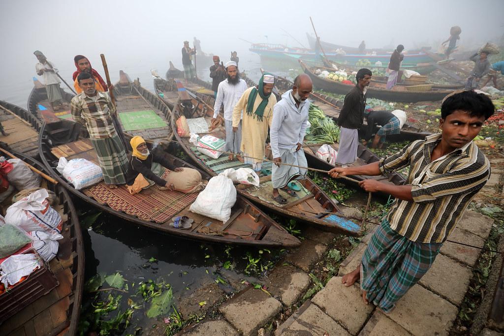 Bangladesh, Sadarghat in Dhaka