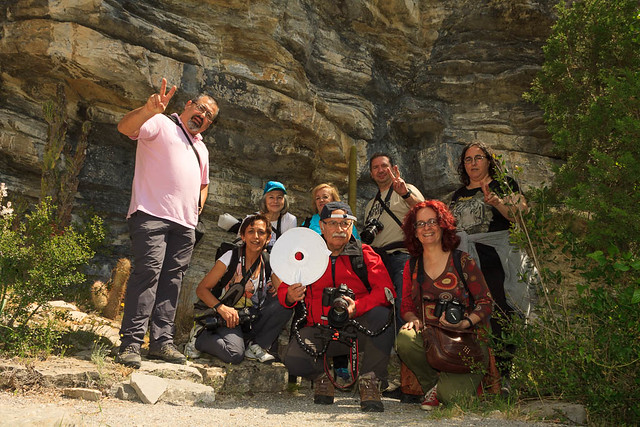 Foto de grupo de los Sunrisers en Santa Catalina