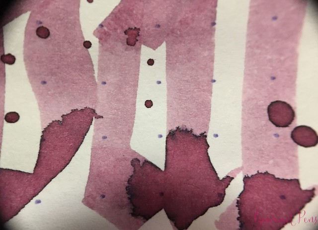 Ink Shot Review @RobertOsterInk Australian Opal Mauve @NoteMakerTweets 9