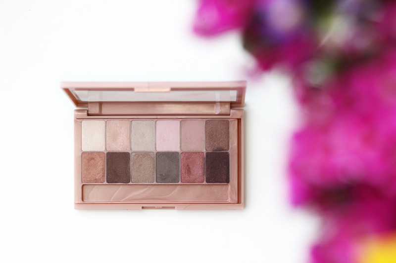 Maybelline The Blushed Nudes Palette Review and Look