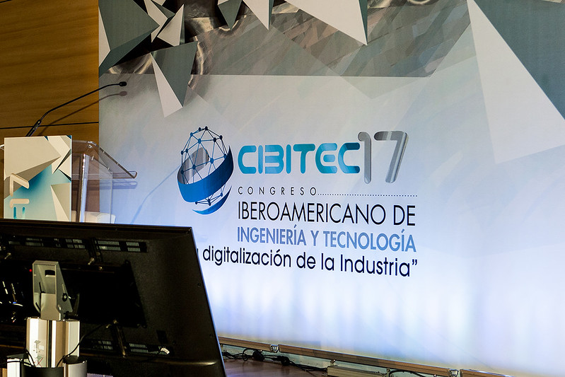 """CIBITEC17 """"La digitalización de la Industria"""". ETSI Industriales."""