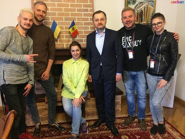 Moldova reception