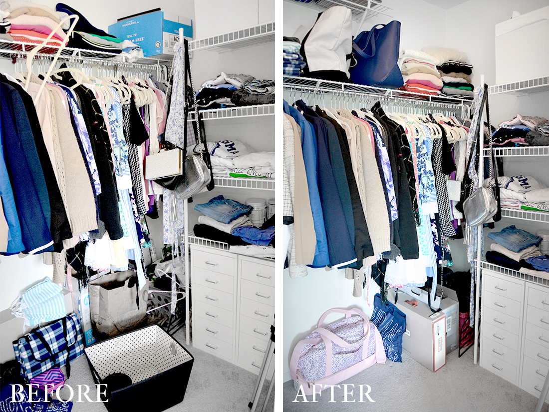 Five Hacks to Make Your Tiny Closet Feel Bigger