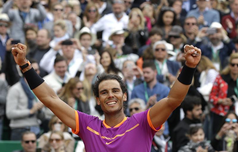 Rafael Nadal生涯11次挺進法網男單4強。(達志影像資料照)