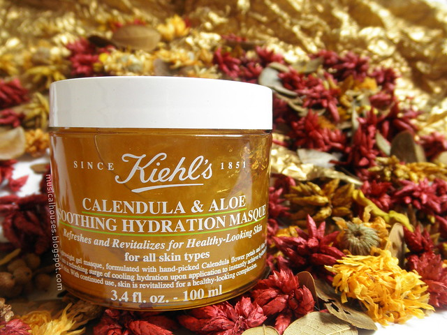 Kiehl's Calendula Mask Review Aloe Soothing Hydration Masque