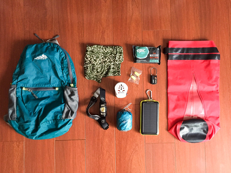 Africa overland packing