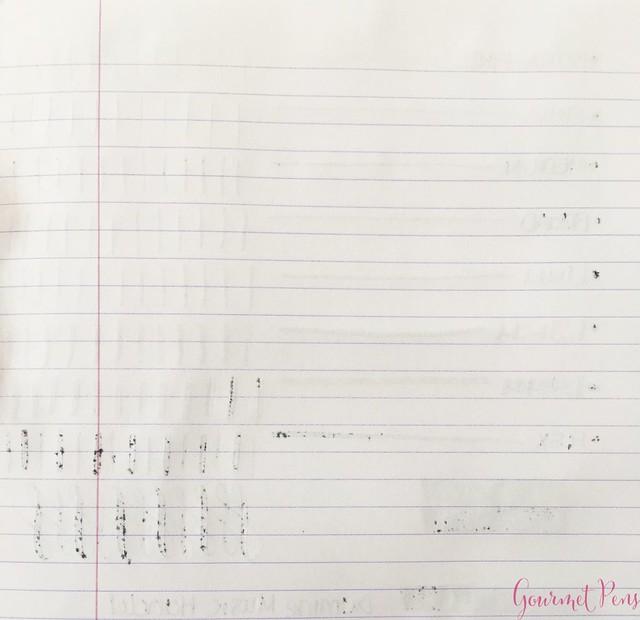 Ink Shot Review Diamine Music Handel @AppelboomLaren 4