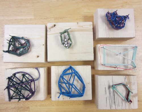 nail and string art