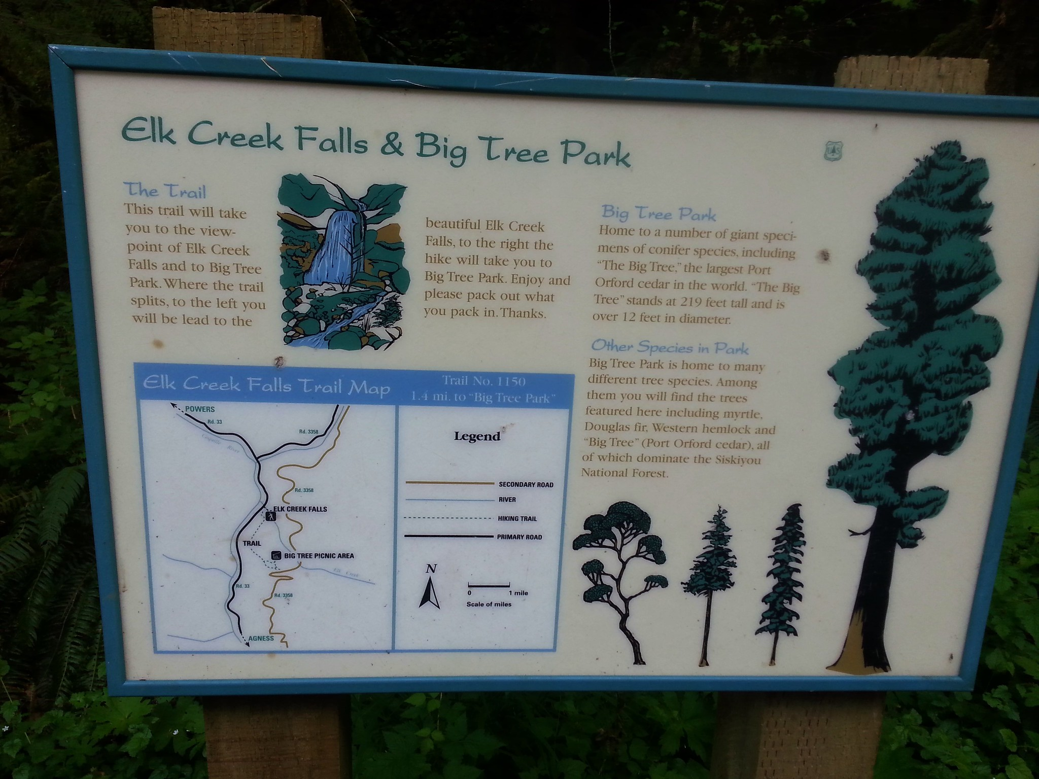 Elk Creek Falls Trailhead