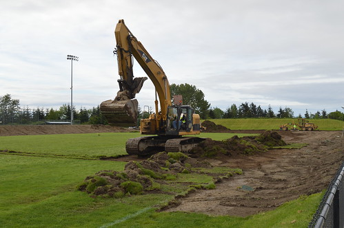 2017 Memorial Field Renovation Groundbreaking