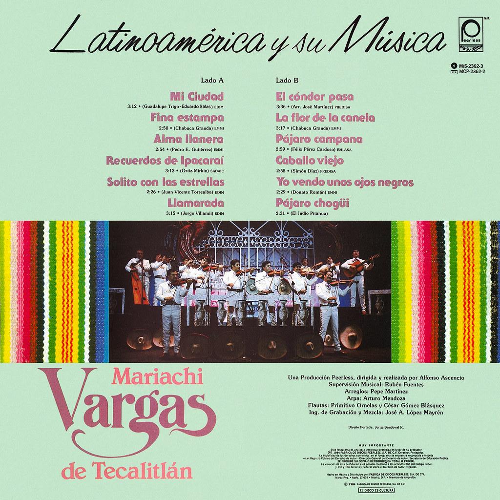 Mariachi Vargas de Tecalitlán - Latinoamerica Y Su Musica