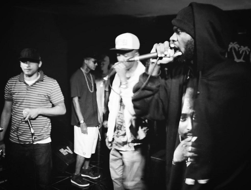 Léo-Ccabeça, Nelson Fumaça, NGO e Ayo Shani no Rap Night