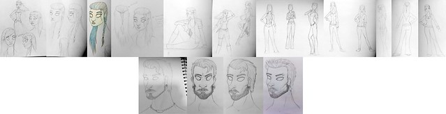 Character Designs - First Drafts