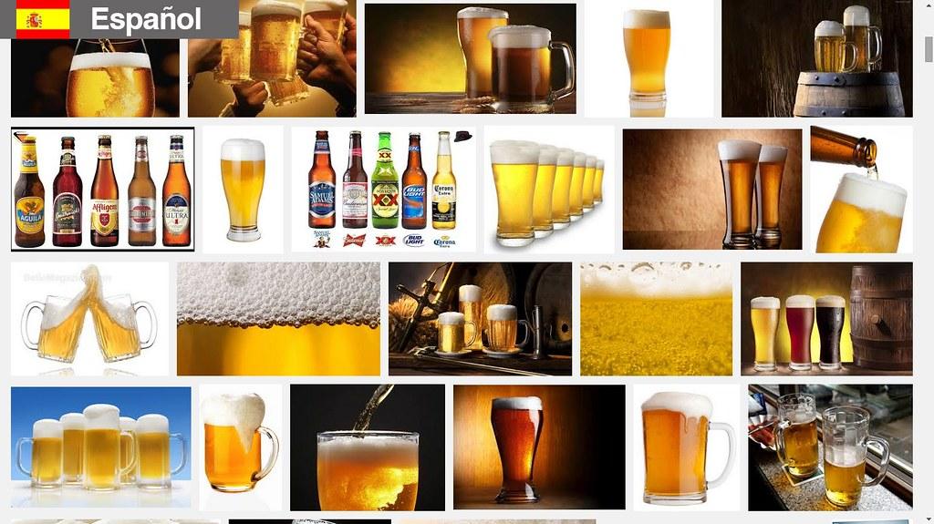 Búsqueda de cervezas en español