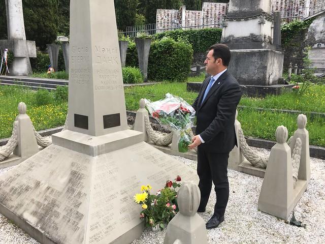 In memoria dei caduti Kazaki per la liberazione di Trieste