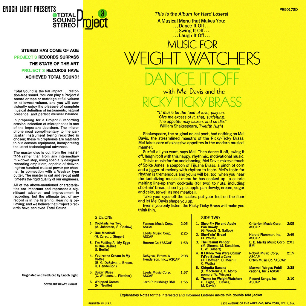 Mel Davis - Music for Weight Watchers