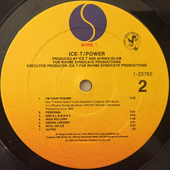 ICE-T:POWER(LABEL SIDE-B)