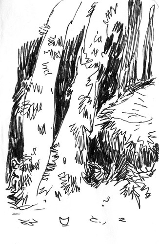 Sketchbook #103: Little bits Forest | by apple-pine