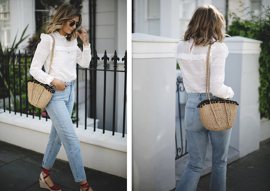 how-to-wear-a-straw-bag