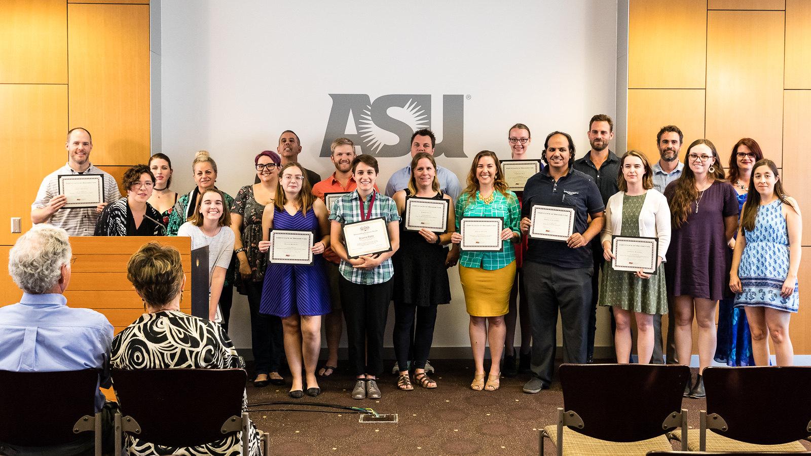Graduation Reception And Awards Ceremony, 2017