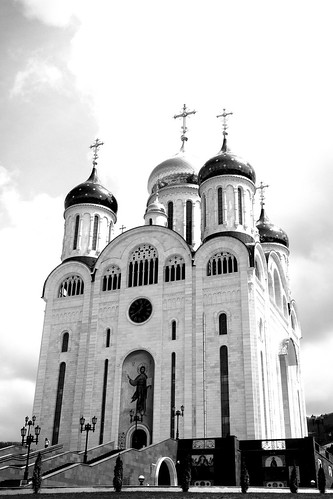 the Cathedral, Yuzhno-Sakhalinsk on MAY 08, 2017 (2)