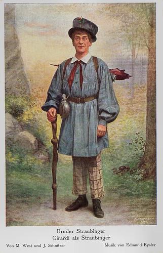 Alexander Girardi in Bruder Straubinger