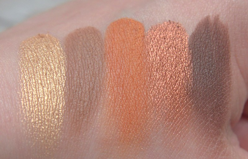 Jeffree Star Androgyny palette swatches