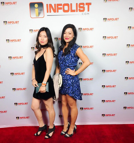 Red carpet for #infolist's pre-#cannes2017 event w/fellow tall drink of #asian water @ariaxsong ❤️👭    #asianactress #chinese #chineseamerican #abc #fashion #style #ootn #hollywood #losangeles | by cindychu