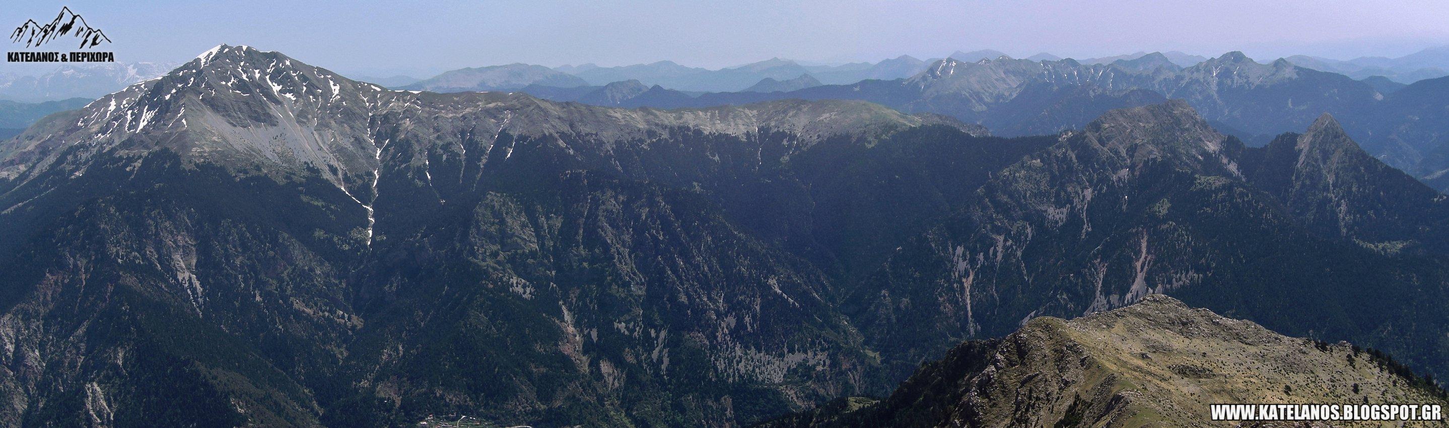 βουνα καλιακουδα πλατανακι πανταβρεχει