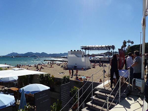 ciné de la plage