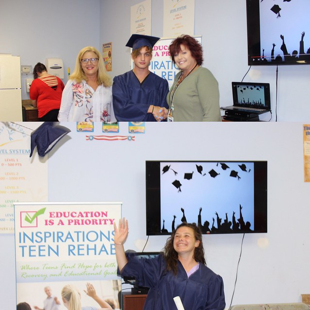 Inspirations' Teens Graduate High School while at Rehab thumbnail